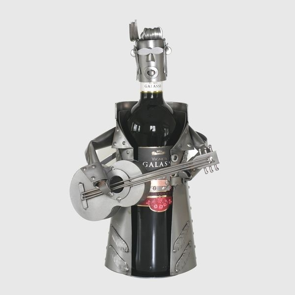 king of rock wine bottle holder